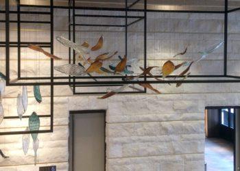 Forest Drift, Foyer ceilling Installation, Intercontinental Hotel Perth