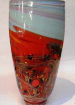 Art glass landscape by Gerry Reilly-58