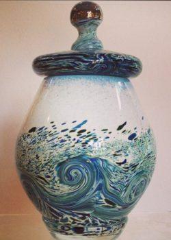 Ocean Wave Keepsake Urn