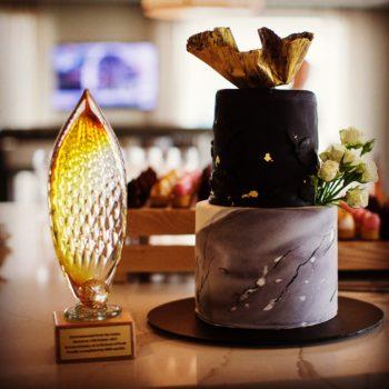 Intercontinental Hotel Perth Gerry Reilly Art Glass Corporate Award