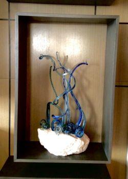Intercontinental Hotel Perth Gerry Reilly sculpture Aquifer