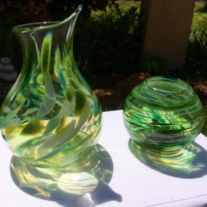 Art glass tableware by Gerry Reilly -05