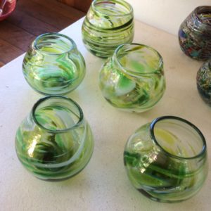 Art glass tableware by Gerry Reilly -12