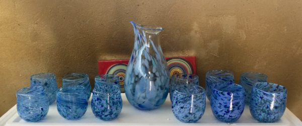 Art glass tableware by Gerry Reilly -32