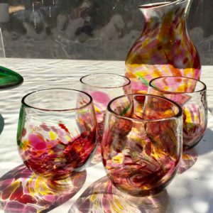 Art glass tableware by Gerry Reilly -46